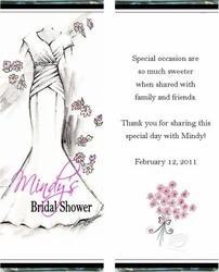 BS-25CW Wedding Gown Bridal Shower Wrappers