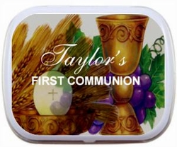 09T - Chalice First Communion Mint Tin