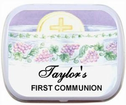 02T - Chalice Design Personalized Mint Tin