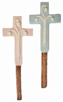 Chocolate Cross Pretzel Rods