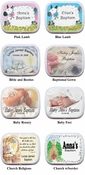 Christening or Baptism Mint Tins