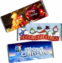 Christmas & Holiday Candy Bar Favors and Wrappers