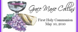 COM-10 Chalice First Communion Wrapper (Boy or Girl)