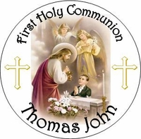 COM29T - Boys First Holy Communion Candy Tin