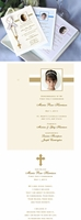 Communion / Confirmation Personalized Remembrance Cards