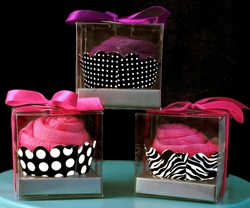 Cupcake Sock Favors