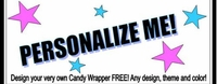 Design Your Own - Candy Bar Wrappers