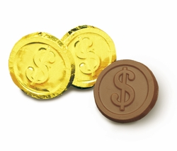 Dollar Sign Chocolates