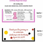 FB09 - Pink Dots Candy Bar