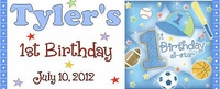 FB6-WBL All Star Birthday Water Bottle Labels