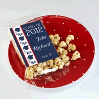 Graduation Caramel Corn Party Favors
