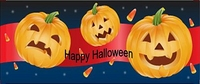 HAL04CW - Halloween Pumpkins Candy Bar Wrappers