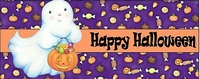 HAL08CW - Cute Ghost Halloween Candy Wrappers