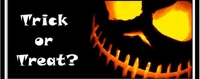 HAL13CW - Scary Trick or Treat Candy Bar Wrappers