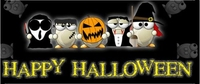 HAL17CW - Funny Halloween Costume Candy Bar Wrappers