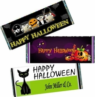 Halloween Candy Bar Favors and Candy Bar Wrappers