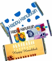 Hanukkah Candy Bar Favors