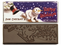 Holiday Party Favors  - Candy Bars and Wrappers  (case of 50)