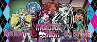 KB-39CW Monster High Candy Bar Wrapper
