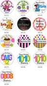 Kid's Birthday Lollipop Favors