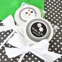 Las Vegas Favors - Personalized Lollipops