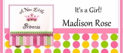 NBG05-Little Princess Candy Bar Wrapper