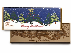 """Merry Christmas"" Candy Bar and Wrapper (Case of 50)"