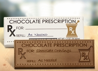Chocolate Prescription Candy Bars  (Case of 50)
