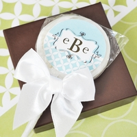 Mod Monogram Personalized Lollipops