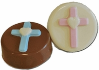 Christening and Baptism Oreo Cookie Cross Favors