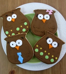 Owl Cookie Favors