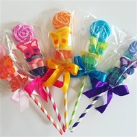 Personalized Birthday Candy Kabob Lollipops