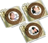 Custom Chocolate CD Favors