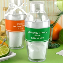 Personalized Cocktail Shaker Party Favors