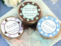 Personalized Cookie Lollipop Favors