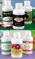 Personalized Energy Shot Favors