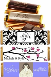 Personalized GODIVA Candy Bars
