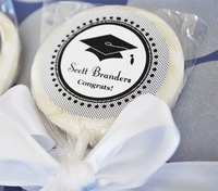 Personalized Lollipops - Graduation Party Favors