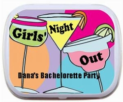 Girls Night Out Personalized Mint Tins