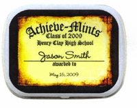 Personalized Mint Tins - ACHIEVE-MINTS Design