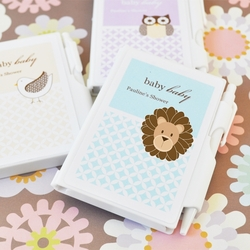 Baby Shower Personalized Notebook Favors