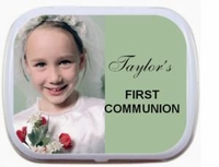 08T - Photo First Communion Mint Tins
