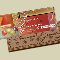 Season's Greetings- Milk Choc