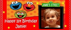 FB41CW - Sesame Street Candy Bar Wrapper (boy or girl)