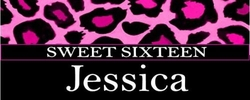 SS-31CW - Black and Pink Leopard Print Sweet 16 Candy Bar Wrappers