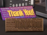 Thank You Candy Bar Wrappers and Chocolate Bars(Case of 50)