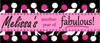 WB-003CW Another Year of Fabulous! Candy Wrapper