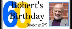 WB-13CW  Birthday Photo Candy Bar Wrappers