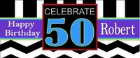 WB-38CW 50th Birthday Candy Bar Favors (Man or Woman)