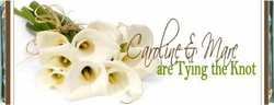 WED-18CW Calla Lily Wedding Candy Bar Favors